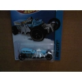 Hot Wheels 2014 Street Creeper Blue