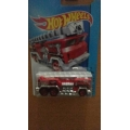 Hot wheels 2014 5 alarm red