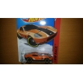 Hot wheels 2014 Ford shelby gr1 concept orange