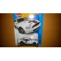 Hot wheels 2014 Ford shelby gt500 white
