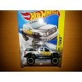 hot wheels 2014 10 toyota tundra grey