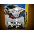 hot wheels 2014 TH ford fiesta white