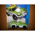 hot wheels 2014 TH rescue duty green