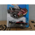 hot wheels 2014 buzzerk red
