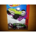 hot wheels 2014 carbonator green purple