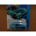 hot wheels 2014 civic ef blue