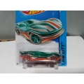 hot wheels 2014 clear speeder green