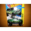 hot wheels 2014 dodge ram 1500 green