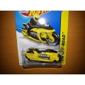 hot wheels 2014 fly by yellow