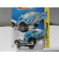 hot wheels 2014 hw poppa wheelie blue