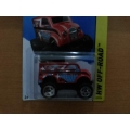 hot wheels 2014 monster dairy red