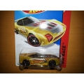 hot wheels 2014 nerve hammer yellow