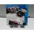 hot wheels 2014 spector white pink