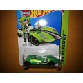 hot wheels 2014 twin mill green