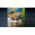 hot wheels 2015 datsun wagon yellow
