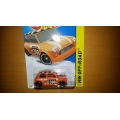 hot wheels 2015 morris orange